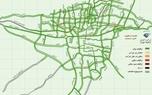 اوضاع ترافیکی معابر و اتوبان های تهران در عصر دوشنبه+ عکس