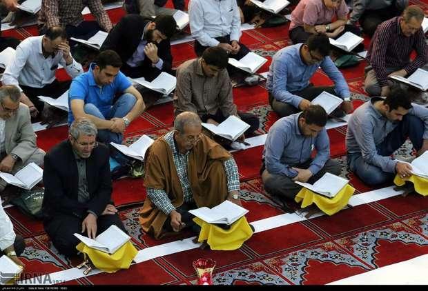 جمع خوانی قرآن از محل نیات واقفان در خوی آغاز شد