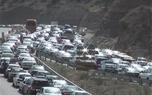 ترافیک سنگین در جاده های چالوس و هراز