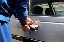 سارق محتویات داخل خودرو در بروجرد دستگیرشد