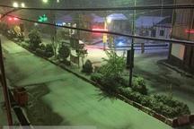 برفی شدن جاده هراز   رانندگان زنجیرچرخ و تجهیزات زمستانی به همراه داشته باشند