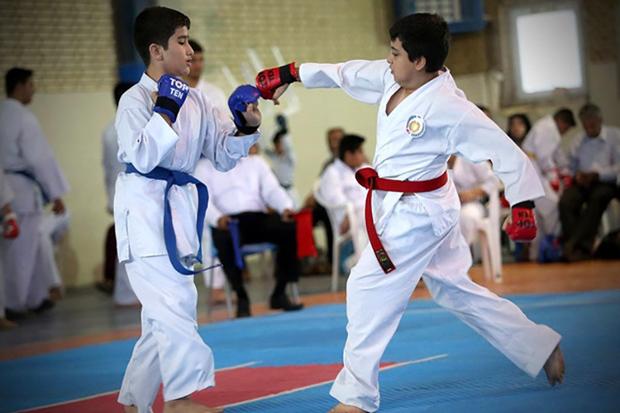 کاراته کاران زنجان درالمپیاد استعدادهای برتر 4نشان کسب کردند