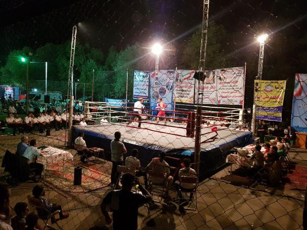 قهرمانی تیم منطقه 6، رقابت های بوکس کشور در میاندوآب