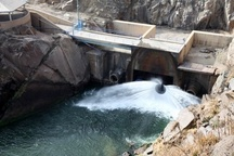 آغاز سومین مرحله رهاسازی آب از سد بوکان به دریاچه ارومیه