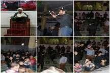 مراسم احیای شب بیست و سوم در سیستان و بلوچستان  برگزار شد