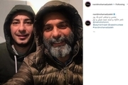 سلفی پیمان معادی با نوید محمدزاده