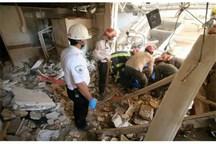 انفجار سیلندرهای گاز در تهران 2 مصدوم برجاگذاشت