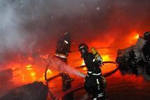 مرگ یک نفر در آتش سوزی ساختمان مسکونی