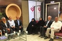 حضور تعدادی از نمایندگان مجلس برای ملاقات با مهدی کروبی