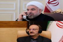 رئیس جمهور در جریان آخرین وضعیت استان قزوین قرار گرفت