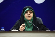 دولت بدنبال تقویت حضور زنان در عرصه های مختلف جامعه و برقراری عدالت جنسیتی است