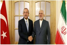 دیدار وزیران امور خارجه ایران و ترکیه در اصفهان