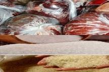توزیع گوشت قرمز، شکر و برنج در شهرستان بناب