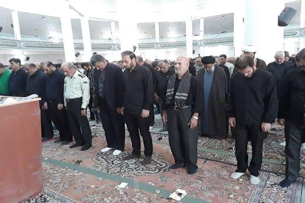 نماز ظهر عاشورا در گچساران اقامه شد