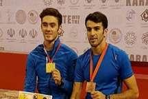 2 کاراته کای قزوینی در ترکیب کومیته تیمی ایران قرار گرفتند