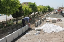 35000 متر مربع از معابر سوق نیازمند سنگ فرش است