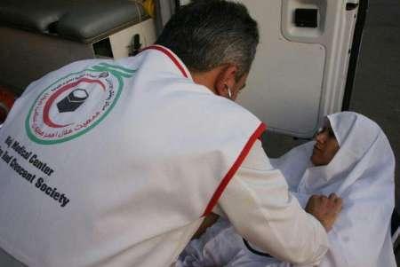 اجرای طرح معاینات پزشکی حج تمتع درهلال احمر البرز