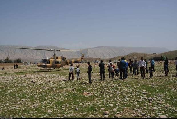 چتر امنیتی و انتظامی در مناطق سیل زده دره شهر برقرار است