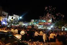 تبلیغات انتخاباتی در اراک به اوج خود رسید  شور مردمی و بارش اقلام تبلیغی