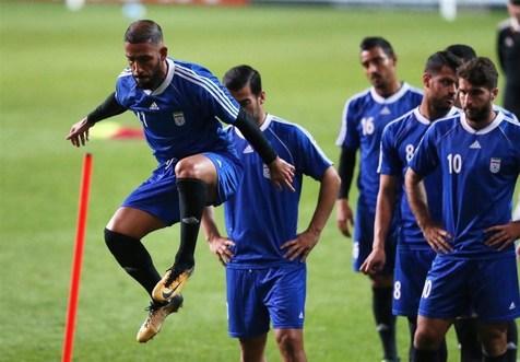 تمرین تیم ملی فوتبال پیش از دیدار با کره جنوبی+ تصاویر