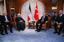 روحانی در دیدار با اردوغان: تروریسم از مهمترین معضلات منطقه و نیازمند مبارزه همگانی است