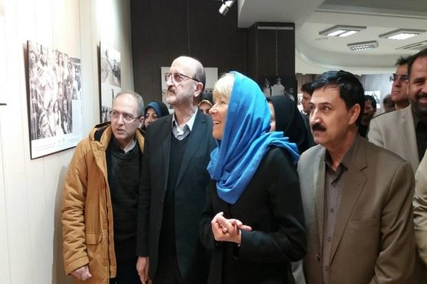 نمایشگاه عکس همکاری ایران و سازمان ملل در قزوین گشایش یافت