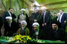 تجدید میثاق رئیس دستگاه قضا با آرمان های امام خمینی (س)