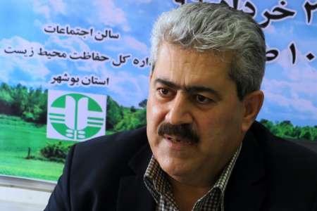 460 هکتار از زمین های تحت حفاظت محیط زیست در استان بوشهر رفع تصرف شد