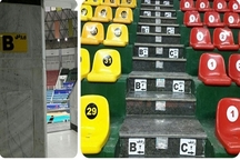 آماده سازی محوطه ورزشگاه غدیر ارومیه جهت برگزاری رقابت های لیگ ملت های والیبال 2019