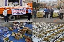 کمک های استان بوشهر به مناطق سیل زده ارسال شد