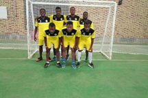 دیدار تیم فوتسال شهرداری رشت با بازیکنان کامرونی تیم شن سای