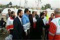 حضور استاندار خوزستان در مناطق زلزله زده غرب کشور