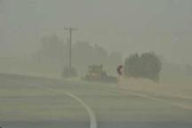 وزش باد در سیستان شدت گرفت