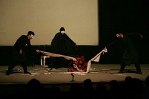 بیست و هشتمین جشنواره تئاتر استانی در ایرانشهرآغاز بکار کرد