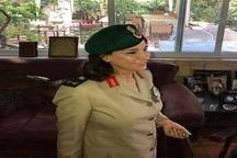 یک زن در ارتش سوریه سرلشکر شد