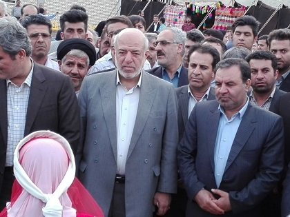 تصفیه خانه شهر دوگنبدان با حضور وزیر نیرو بهره برداری شد