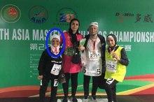 بانوی 81 ساله جانباز ورزشکار: برای شرکت در مسابقات بین المللی سالمندان وام گرفتم