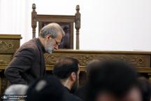 نشست رسانه ای علی لاریجانی رئیس مجلس شورای اسلامی