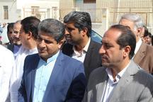 کلنگ زنی و افتتاح هشت طرح اشتغالزایی در منطقه آزاد چابهار