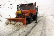 راه های آذربایجان شرقی تیغ زنی و برف روبی شد