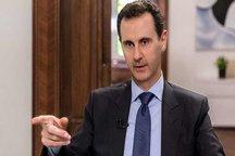 بشار اسد: ملت و ارتش عزم خود را برای آزادی آخرین وجب از خاک خود جزم کردهاند