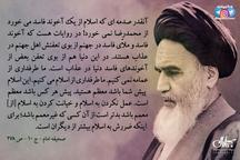 امام خمینی: آنقدر صدمه ای که اسلام از یک آخوند فاسد می خورد از محمدرضا نمی خورد