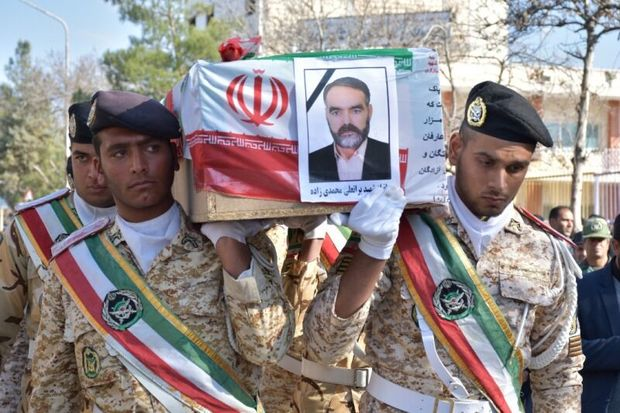 پیکر جانباز شهید قوچانی تشییع شد