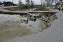 دسترسی محلی قسمتی از شهر رویان قطع شد