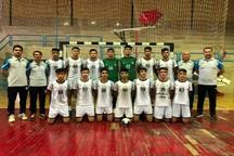 پیروزی نوجوانان هندبال فرازبام دهدشت بر عدل اصفهان