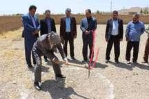 ساخت یک مدرسه 2 کلاسه و 2 باب کلاس خیری در سه روستای خاتم آغاز شد