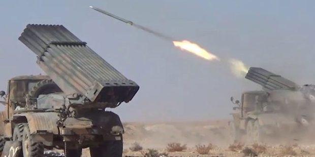 عملیات گسترده ارتش سوریه در شمال استان حماه