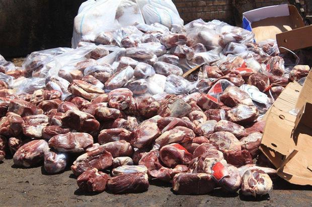 450 کیلوگرم گوشت فاسد در زنجان کشف و ضبط شد