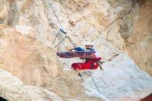 کوهنورد مصدوم پس از 15 ساعت نجات پیدا کرد+ تصاویر