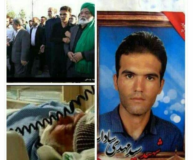 شهروندان یزدی دستگیری ضارب پدرشهید مدافع حرم را خواستار شدند